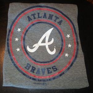 Atlanta Braves boys tshirt